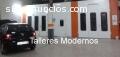 Talleres modernos de chapa y pintura