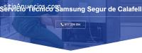 Técnico Samsung Segur de calafell