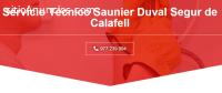 Técnico Saunier duval Segur de calafell