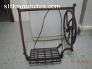 Vendo pedal y rueda maquina coser SINGER