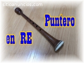 VENDO PUNTERO TONO MUSICAL RE PARA GAITA