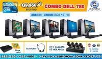 05 COMPUTADORAS EN COMBO CON CAMARAS DE