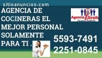 AGENCIA DE COCINERAS JIREH