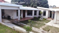 Casa venta sobre carretera Santa Lucia M
