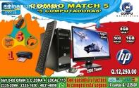 COMBO TODO INCLUIDO DE 05 COMPUTADORAS H