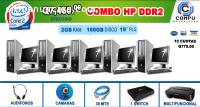 COMBO X5 COMPUTADORAS PARA CAFE INTERNET