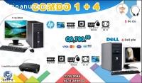 COMBOS CYBER DE 04 COMPUTADORAS DELL +01