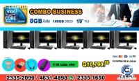 COMBOS DE 05 COMPUTADORAS HP, IDEALES PA