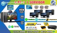 COMBOS DE 05 COMPUTADORAS HP, PARA QUE I