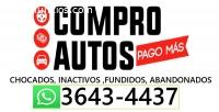 COMPRO CARROS INACTIVOS CHOCADOS O FUNDI