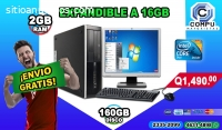 COMPUTADORAS COMPLETAS CON MONITOR DE 19