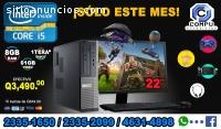 COMPUTADORAS DELL COREi5+Mueble+Bocinas+