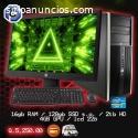 COMPUTADORAS ELITE COREi7, 16GB MEMORIA