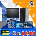 COMPUTADORAS HP+01 MUEBLE+SILLA SECRETAR