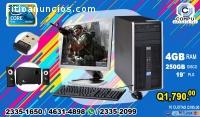 COMPUTADORAS HP+BOCINAS CON WOOFER+WIFI,