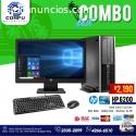 COMPUTADORAS HP CON DISCO DE ESTADO SOLI