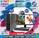COMPUTADORAS HP COREi5, 08GB RAM, 1TERA
