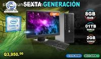 Computadoras Hp de Corei5 de 6ta Generac