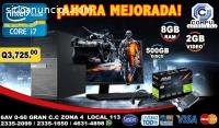 COMPUTADORAS LINEA GAMERS DE COREi7, 08G