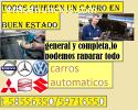 CONVERSIÓN DE CARRO AUTOMATICO POR MECAN