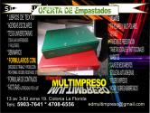 EMPASTADOS FINOS LETRAS DORADAS