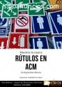 Estructuras y rotulación en ACM