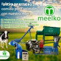 Extrusora Meelko para pellets alimentaci