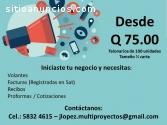 Facturas Q75.00