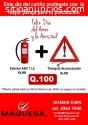 GRAN OFERTA DE EXTINTOR + TRIANGULO