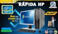 HP 6300PRO CORE I3 CON 4GB RAM Q1,999