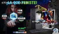 HP 8000PRO CORE2 DUO CON 8GB RAM 1GB