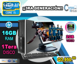 HP CORE I5 CON 16GB RAM 2Gb Video