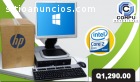 HP CORE2 DUO CON 4GB RAM Q1,400 ULTIMAS!