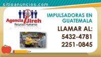impulsadoras en GUATEMALA