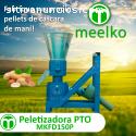 MKFD150P pellets cascara de maní
