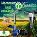 Molino de martillos Meelko 1,5 KW monofá