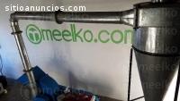 Molino Meelko completo para harina de tr