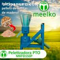 Peletizadora Meelko 150 mm gasolina Mixt