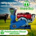 Peletizadora Meelko 260 mm Diesel Mixta