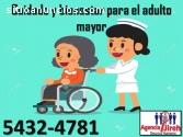 Personal para el cuidado de adulto mayor