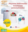 PLAYERAS SUBLIMADAS