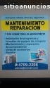 Reparacion y  mantenimiento computadoras