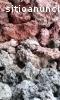 Roca volcánica para plantas de tratamien