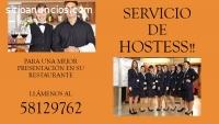 SERVICIO DE HOSTESS POR DÍA O POR MES