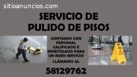 SERVICIO DE PULIDO DE PISOS