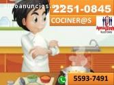 Tenemos el mejor personal para cocina !!