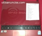vendo repuestos de laptop acer aspire on