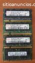 vendo variedad de memorias laptop