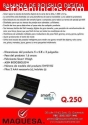 balanza de bolsillo digital