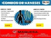 COMBO DE ARNESES,